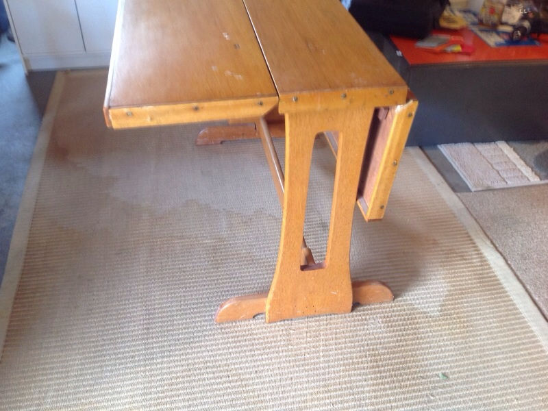 Dinette Table for Sedan Cruiser 1939
